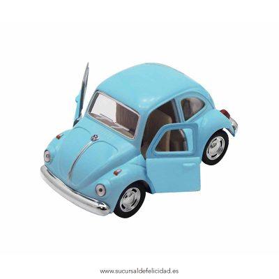Coche Juguete Beetle Classical Azul