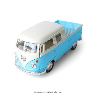 Furgoneta Juguete Pick Up VW 1963 Azul