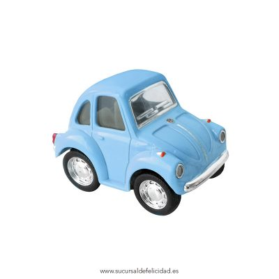 Mini Coche Juguete Little Beetle Classical Azul