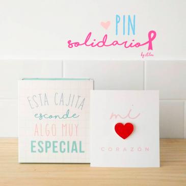 Pin Solidario Corazón