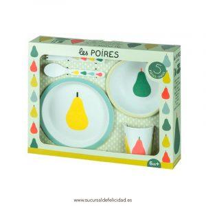 Caja de regalo - Vajilla Peras