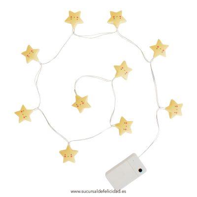 Guirnalda Luminosa Estrellas Amarillas
