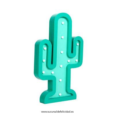 Cactus Led Madera