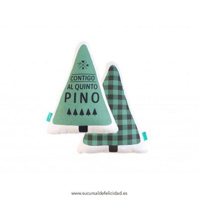 Cojín Contigo Al Quinto Pino