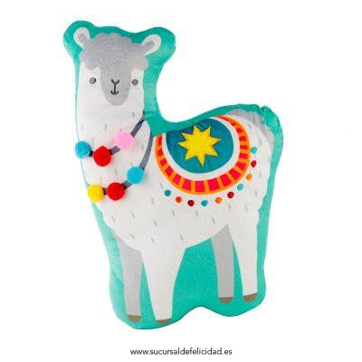 Cojín Llama Terciopelo