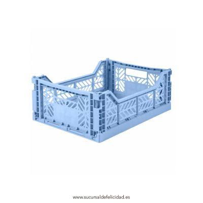 Caja Lillemor Mediana Azul