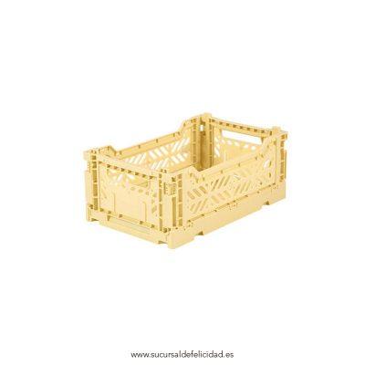 Caja Lillemor Pequeña Amarillo Clarito