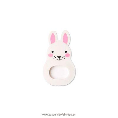 Mordedor Silicona Conejo