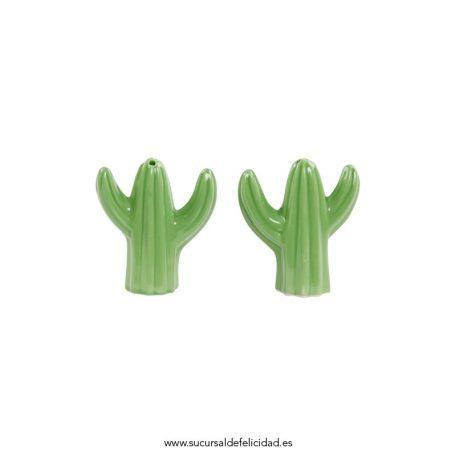 Salero Pimentero Cactus