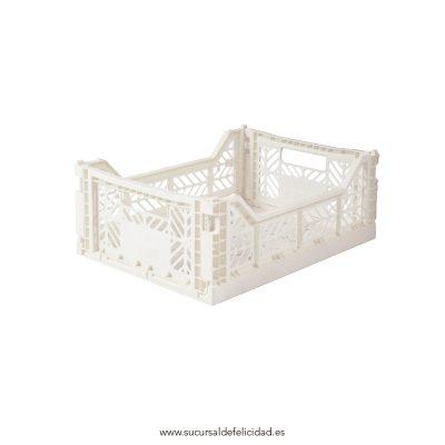 Caja Lillemor Mediana Blanco Coco