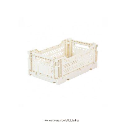 Caja Lillemor Pequeña Blanco Coco