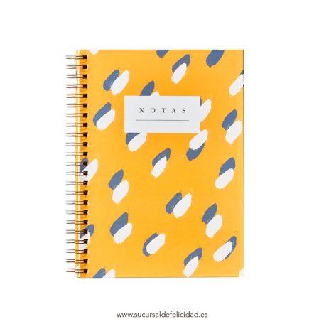 Cuaderno Leopardo Tapa Dura A4