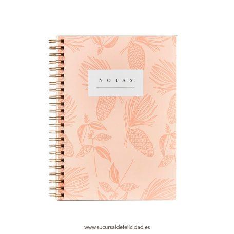 Cuaderno Piñas tapa dura A4