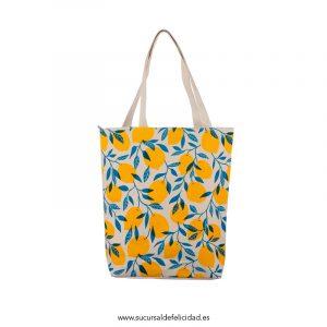 Bolsa de algodón limones