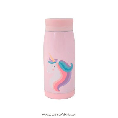 Botella Acero Inoxidable Unicornio
