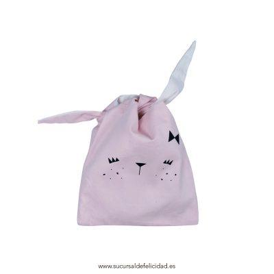 Bolsa de Almuerzo Conejo Rosa