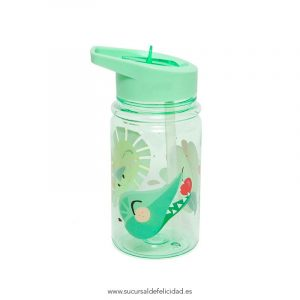 Botella Infantil Shiny Animals verde