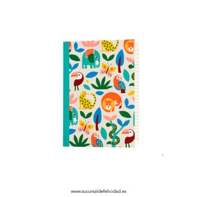 Cuaderno Jungla A5