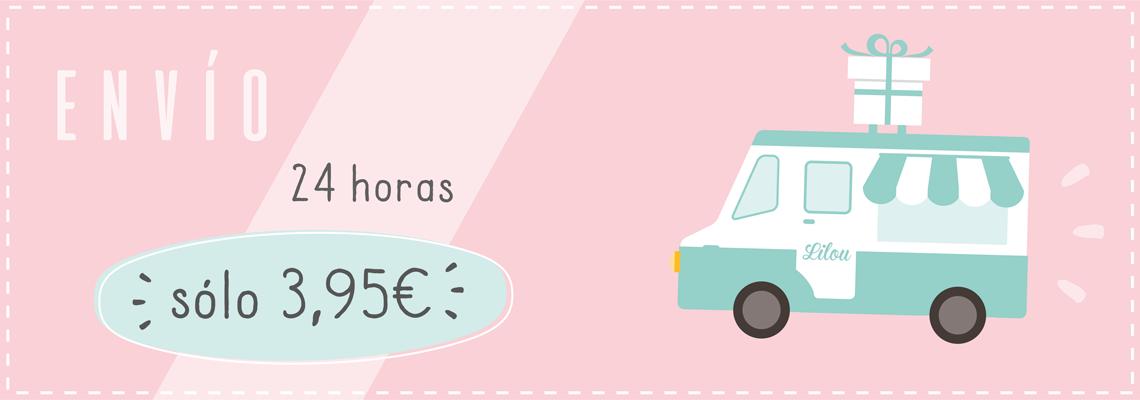 Envío Lilou en 24 horas por 3,95€