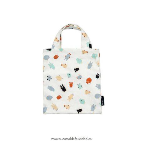Mini Tote Bag Monstruitos