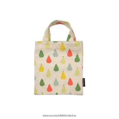 Mini Tote Bag Peras