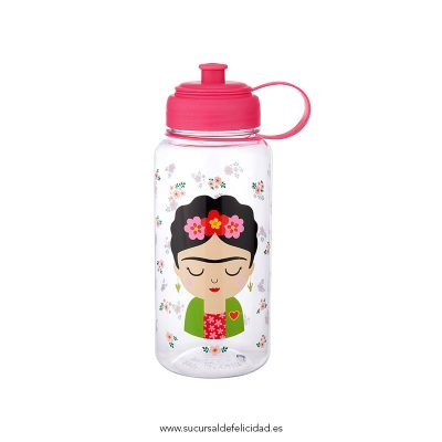 Botella Frida Kahlo