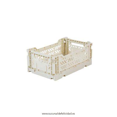 Caja Lillemor Plegable Mini Gris Claro