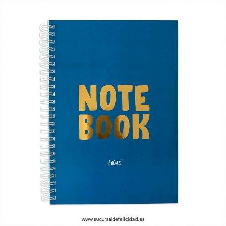Cuaderno Focus Blue