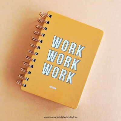 Cuaderno Work Yellow