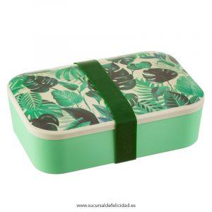 Botanical Jungle - Lunch Box de Bambu