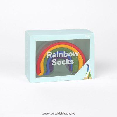 calcetines arcoíris