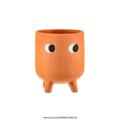 Maceta patitas terracota Mini