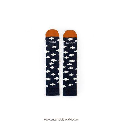 Calcetines Persigue tus Sueños Azul Oscuro
