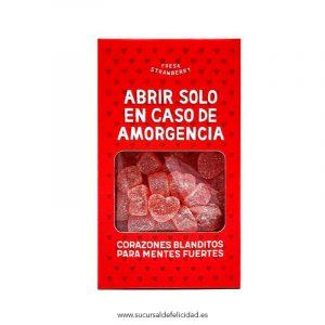 Amorgencia: Corazones Blanditos de Golosina