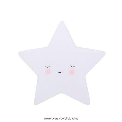 Luz Quitamiedos Estrella Dormida Blanca