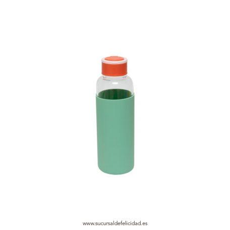 Botella Cristal Eco Friendly Mint