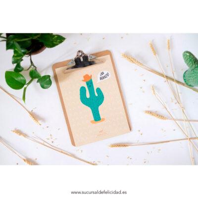 """Lámina """"Cactus"""""""