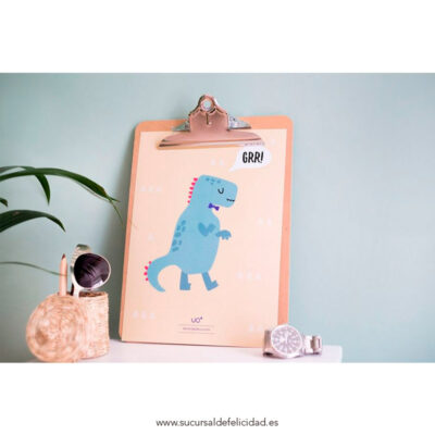 "Lámina ""Dinosaurio"""