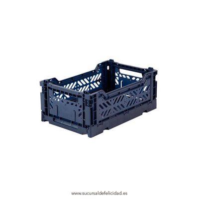 Caja Lillemor Plegable Mini Azul Navy