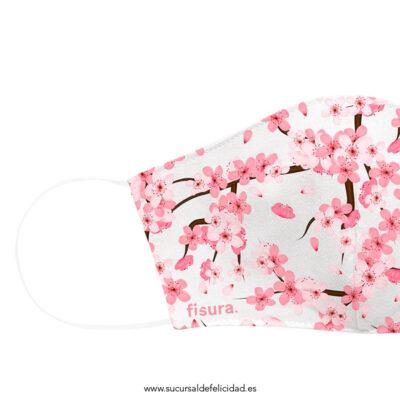 Mascarilla Adulto Tela Sakura