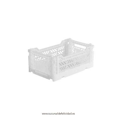 Caja Lillemor Plegable Mini Blanca