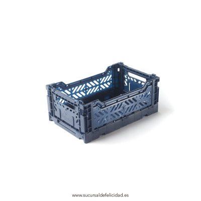Caja Lillemor Plegable Mini Azul Cobalto