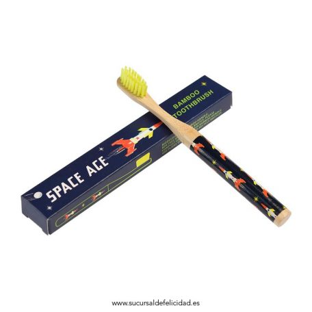Cepillo de dientes Infantil Bambú Espacial