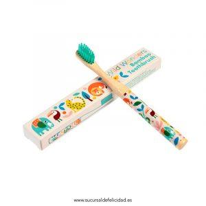 Cepillo de dientes Infantil Bambú Jungla