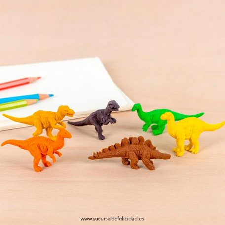 Gomas de Borrar Dinosaurios