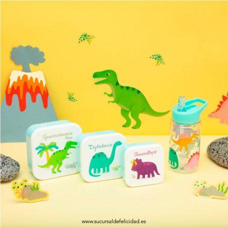 Set Tuppers Dinosaurios