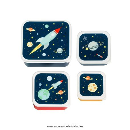 Set de Tuppers Espacio