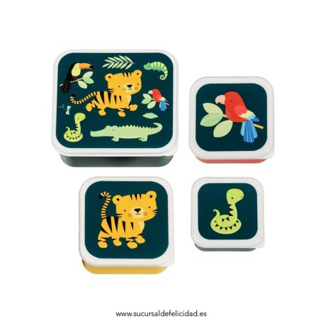 Set de Tuppers Tigre