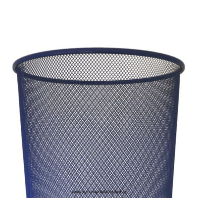 Papelera Fence Azul