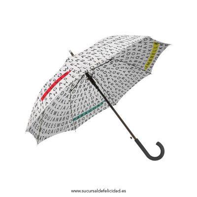 paraguas sopa de letras